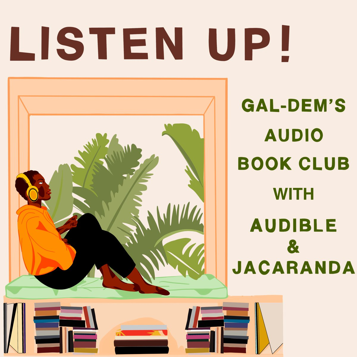 We're working with @JacarandaBooks and @audibleuk to host a monthly audiobook club! We have some brilliant titles lined up, all by new Black authors, so if you're looking for a new way to discover and discuss good books, sign up here: forms.gle/jyGVNLaECtCwFJ…
