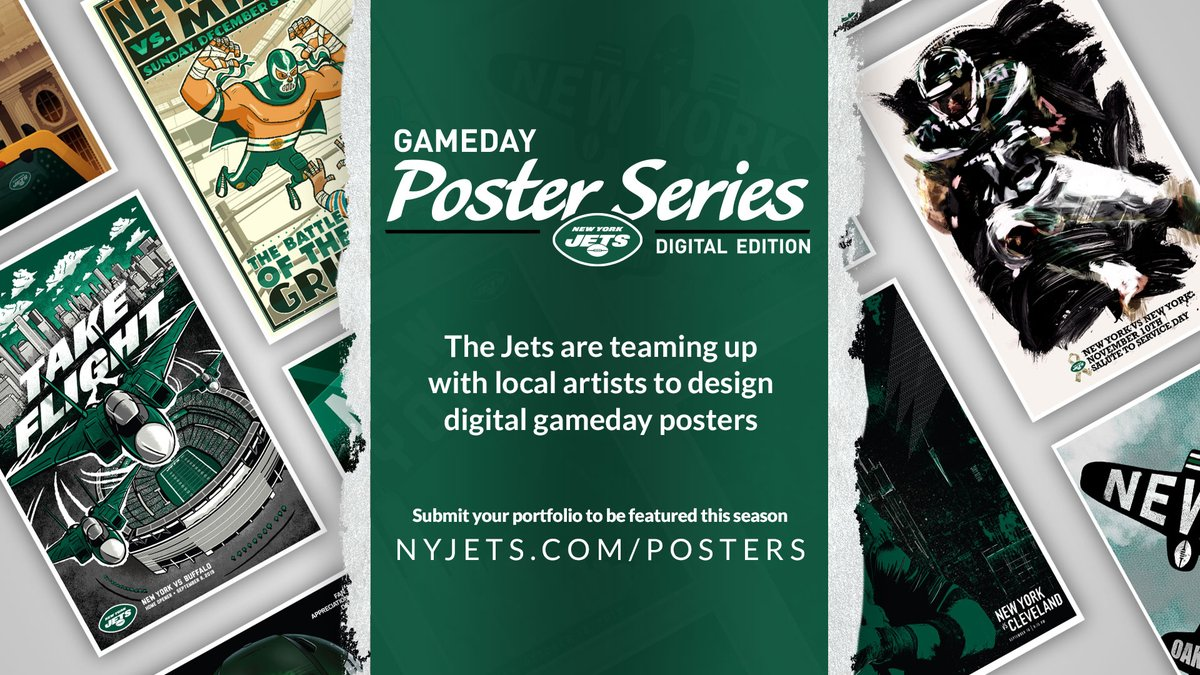 Were looking for the best design skills 👀 Show us what you got → nyjets.com/posters