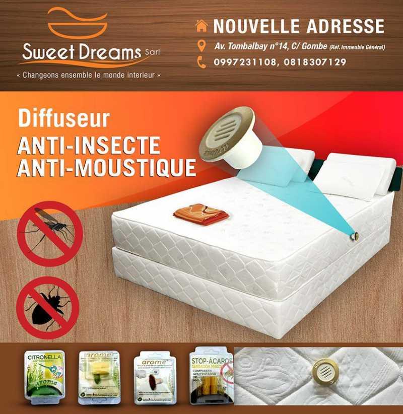 SWEET DREAM | Bizcongo Changeons ENSEMBLE le monde intérieur avec Sweet Dreams s.a.r.l. UNIQUE en RDC ! Matelas anti-insectes, anti-moustiques ! C'est de quoi vous faire rêver ! Voir + : https://t.co/ojBsqZ1VLx  #sweetdream #bizcongo #bizcongolive #kinshasa #rdcongo https://t.co/9MUK1Mft9F