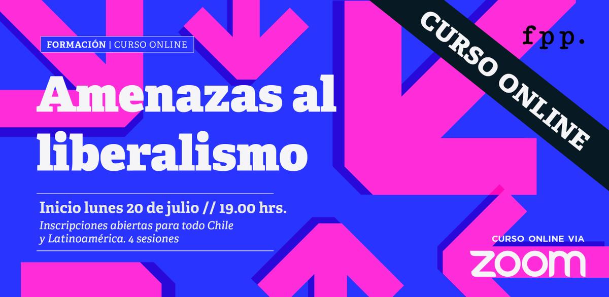 #DESTACADO FPP te invita a un nuevo curso de formación online de 4 sesiones que aborda las principales amenazas a la sociedad libre. Cupos limitados. Transmisión vía Zoom. Inscríbete ahora 👉https://t.co/02JCe8smbz Dirigido a público en todo Chile y América Latina. https://t.co/xKfYXhbd9m