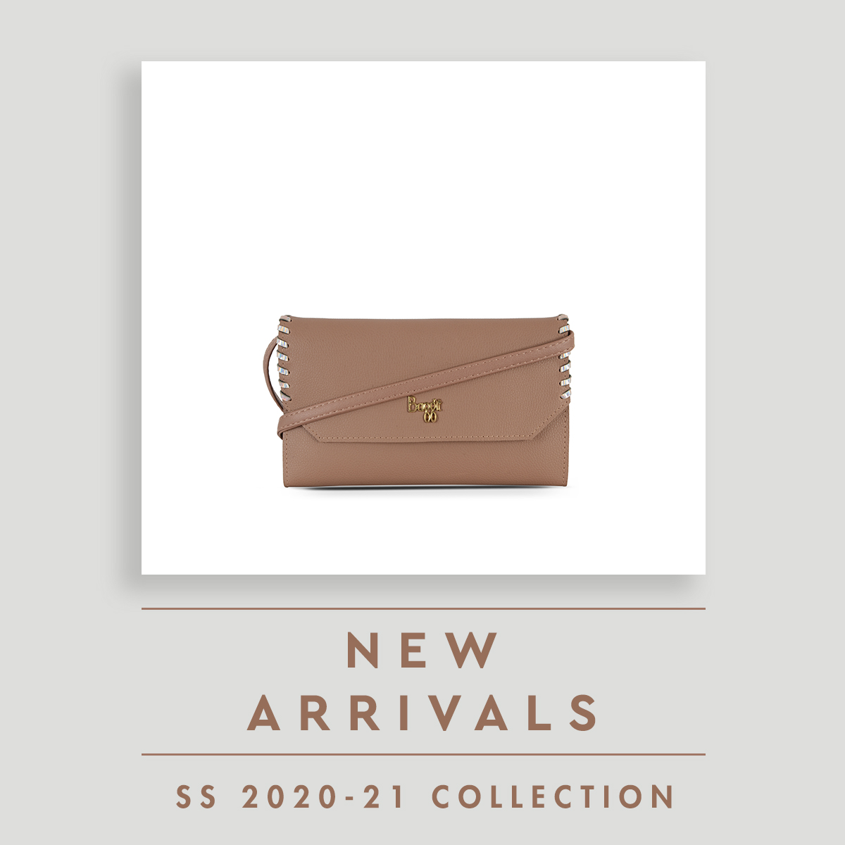 Soft colours and intertwined edges - get your hands on to the latest wallet-slings designed for ladies now by Baggit. #wallet #slings #newarrivals #madeinindia #baggit https://t.co/EuayUKVsa6