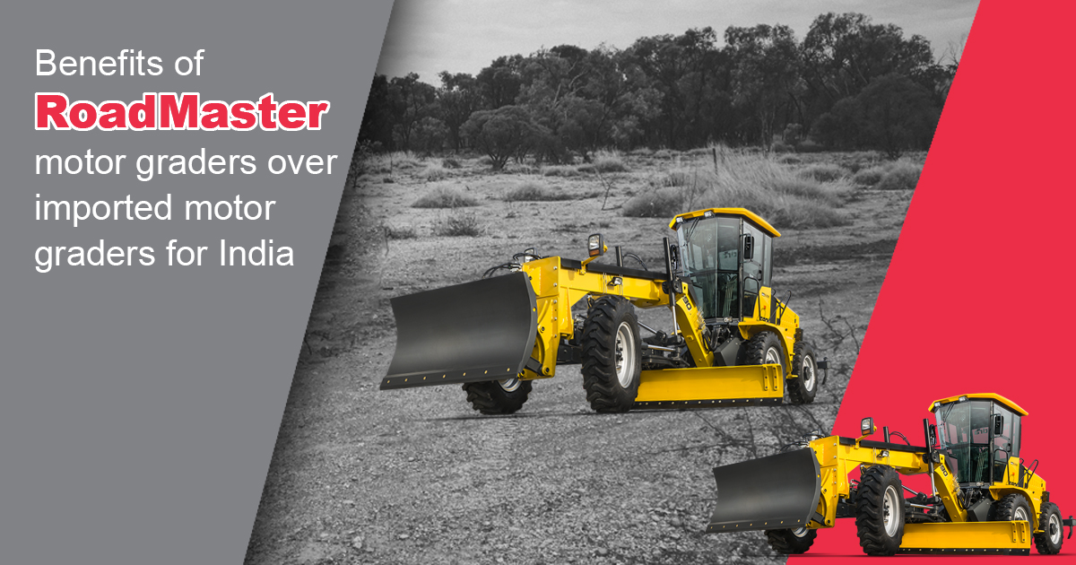 Motor grader is the most critical construction equipment on a road construction site.  Read the importance of Motor Grader made in India over imported one. #Construction #MotorGrader #MadeForIndia #MadeInIndia  https://www.mahindraconstructionequipment.com/blog/benefits-of-roadmaster-motor-graders-over-imported-motor-graders-for-india…pic.twitter.com/1ELAEUT8Cc