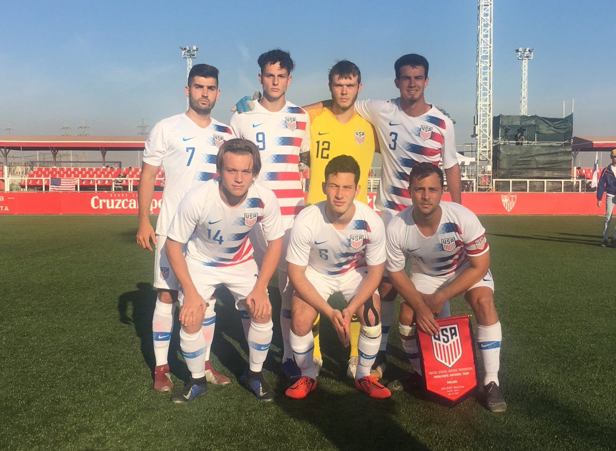 #2019WCrewind   Match day 2 in Sevilla.  USA 🇺🇸 v Finland 🇫🇮   Starting 7: Carter Alvey; Jacob Crumbley, Adam Ballou, Ben Lindau, Nick Mayhugh, Tyler Bennett, Shea Hammond https://t.co/NI5omSFO5q