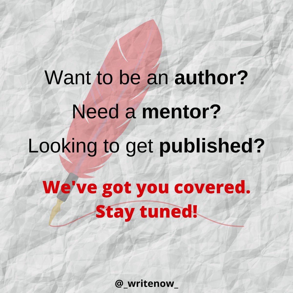 Write your way into the publishing world! Stay tuned to find out how!  #writers #writerslife #writersliftpic.twitter.com/xUHL9JlKsQ
