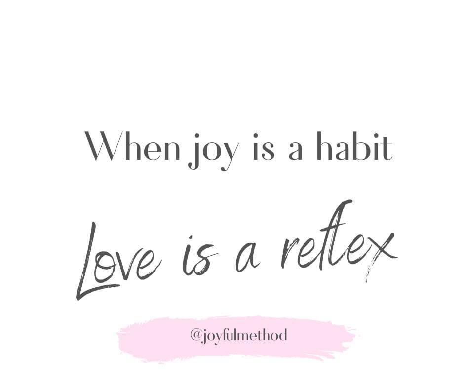 When joy is a habit, love us a reflex. #JoyfulLeaders