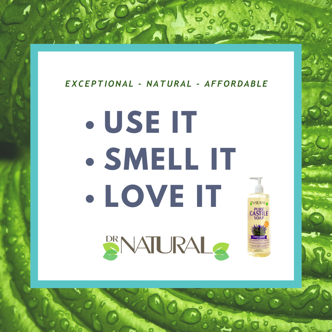 Once you try Dr. Natural Pure Castile soap, you will never go back! #drnatural #castilesoap #soap #organic #liquidsoap #greenliving #barsoap pic.twitter.com/X4HVGAgImI