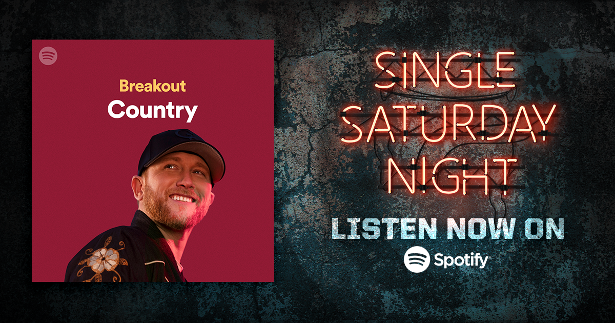 Thanks to my friends at @Spotify for adding me to the cover of their Breakout Country playlist. Give it a listen. #YEAHH https://t.co/T7mHMhxbX7 https://t.co/3eeVLw2Ebf