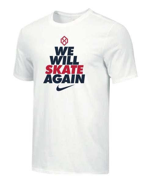 READ (via @NHLdotcom): Ovechkin store offering signature masks, 'We Will Skate Again' shirts - shirt sales benefit @TuckerRoadDucks, a youth hockey team whose rink was destroyed by a fire; face covering sales benefit @MSEFndn's Feeding the Frontlines fund: https://t.co/wLkpfTmv63 https://t.co/QNotxxTCF6