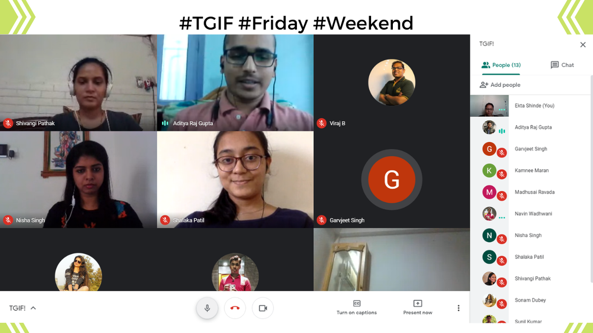 In today's #TGIF meetup, we wish the best of luck to our #interns Aditya Raj Gupta and Shalaka Patil who completed their internships. We're glad to have you as a part of QuantInsti family. #friday #farewell https://t.co/GwBeB857kq