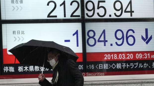Global stocks mixed on contagions increase, economic data