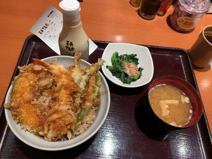 天丼  #tabelog