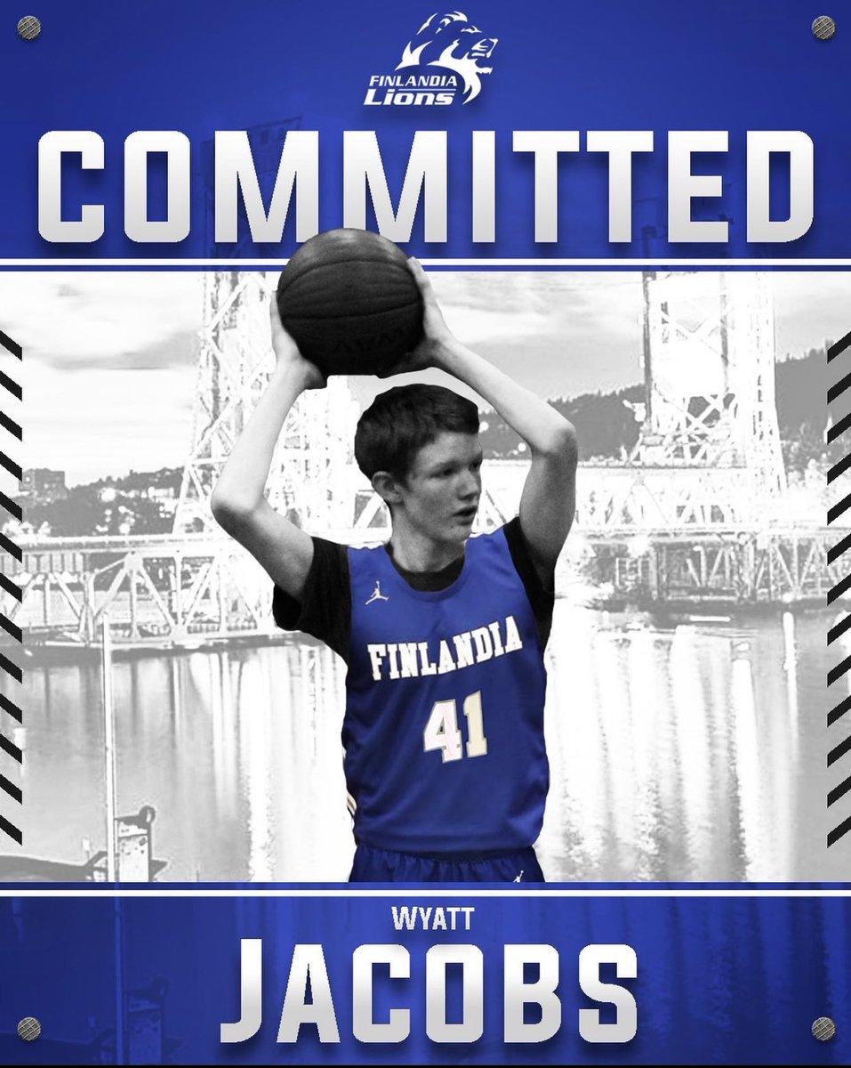 BASKETBALL NEVER STOPS @WyattJacobs306 is #committed #committment #FINNU #Integrity #Service #Excellence #NCAA #Basketball #MichiganBasketball #D3Hoops #UpperPeninsula #NewEra #Hancock #Houghton #Finlandia #BallIsLife #nike #jordan #recruitment #opportunity #hardwork #sacrifice https://t.co/QPXtzzpOlQ