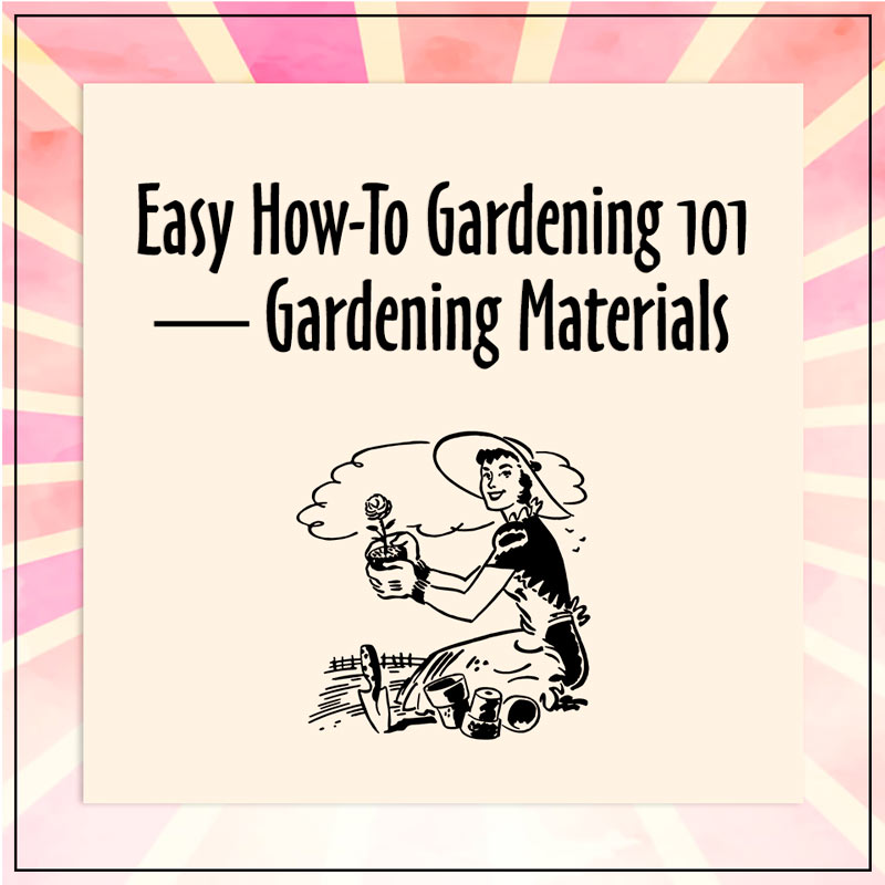 Easy How-To Gardening 101 — Gardening Materials https://www.linkedin.com/pulse/easy-how-to-gardening-101-materials-sharon-mcrill/ … #gardening #Springcleaning pic.twitter.com/qFZSE6SB8m