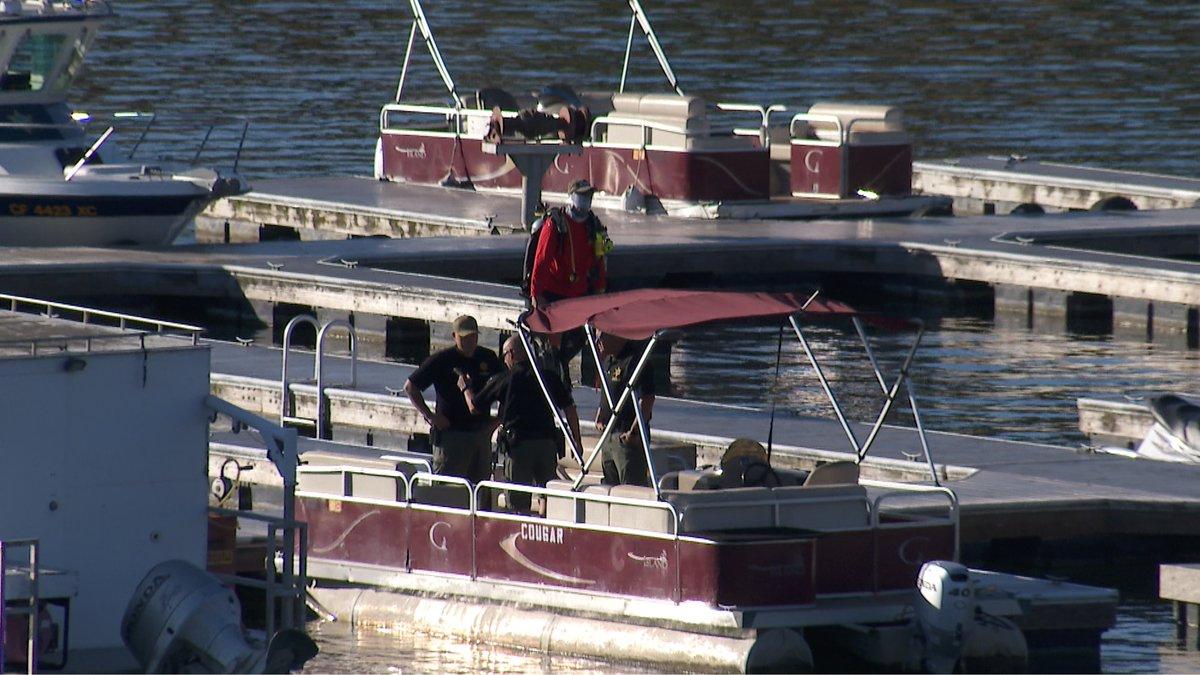 Dive teams loading up gear onto boats to search Lake Piru for #Glee actress #NayaRivera @KTLA @KTLAMorningNews #ktla #losangeles https://t.co/LMkXpdrBSW