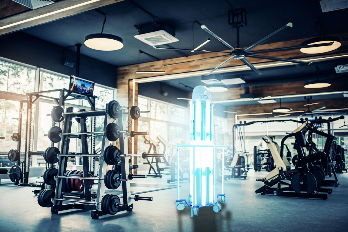 As gyms in England are set to re-open on July 25th, the safety of members and staff is paramount. THOR UVC® is proven to kill #COVID__19 , by emitting automated doses of UVC light. This ensures a clean, safe environment while also reducing lengthy manual cleaning times. #uvc