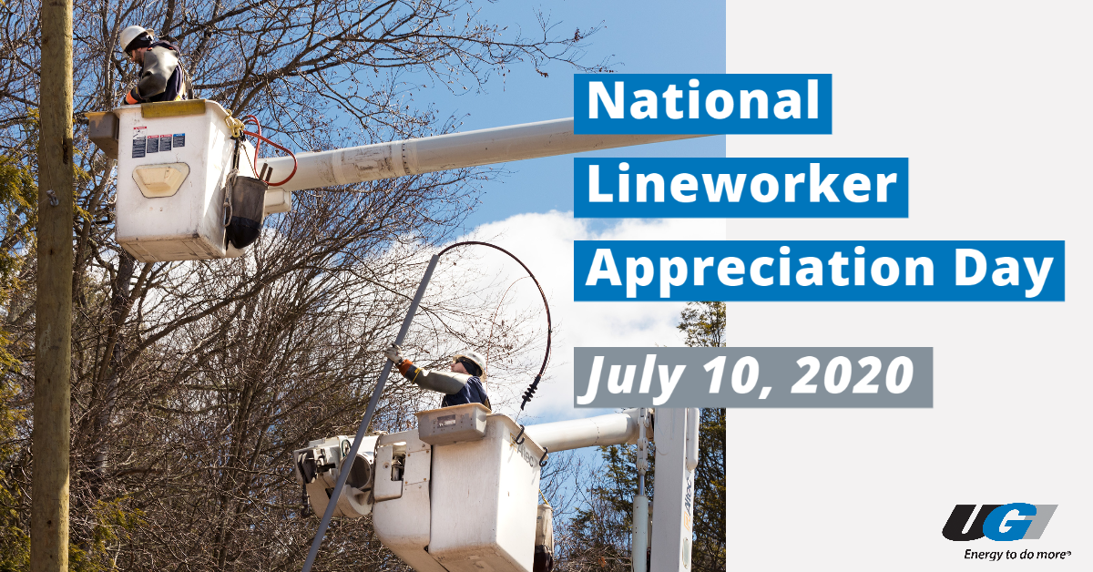 test Twitter Media - We're proud to celebrate National Lineworker Appreciation Day! UGI's lineworkers work around the clock to provide essential electric service to our customers throughout Luzerne and Wyoming counties. #ThankALineworker https://t.co/nADEOOO3F4
