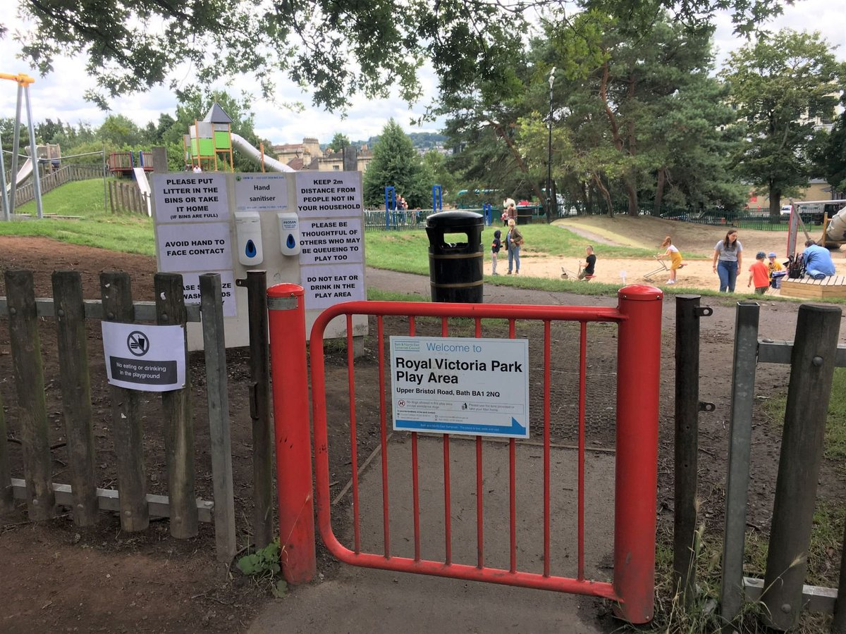 Yippee... @bathnes play areas are open! Pls read the signs, clean your hands regularly, and keep 2m apart. If the area is too busy pls #comebacklater #thinktwice https://t.co/zNNgYttmnB