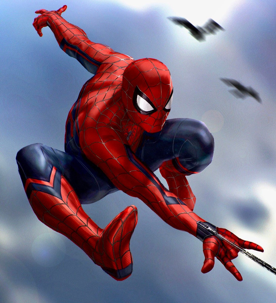 Some great Spider-Man art from Andy Park, bringing the Ultimate Spider-Man vibes!  #andypark #spider-man #peterparker #marvel #mcu #avengers https://t.co/zeMFHURdbD