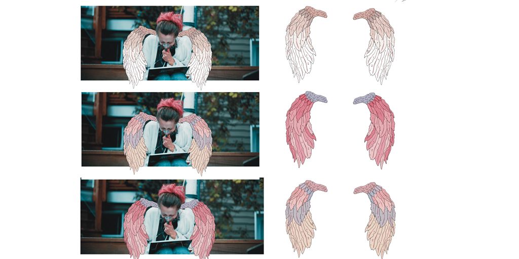 Sneak peak on some concept art from our uber talented animation team. Which is your favorite? 1 (top), 2 (middle) or 3 (Bottom), let us know in the comments! . . . #indiefilm #independantfilm #filmmaking #makingof #filmlife  #artfilm #animation #wings #angelwings #pink #cbimfilmpic.twitter.com/f7YmlTiKt4