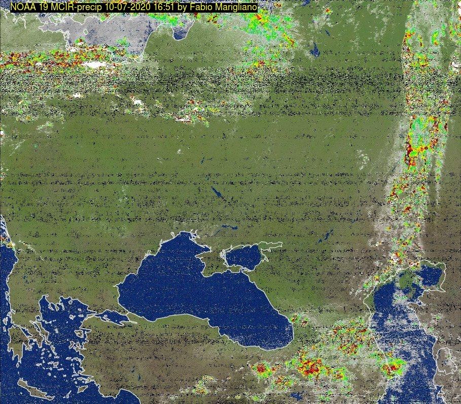 🇮🇹 Immagine Satellitare: NOAA 19 10-07-2020 16:51. Elevazione Massima: 20 gradi. #NOAA #weather #meteoitalia #noaasatellite #clima #italy #italysat #meteopuglia #realsat #meteosat #meteosalento https://t.co/GKYl0qj2jy