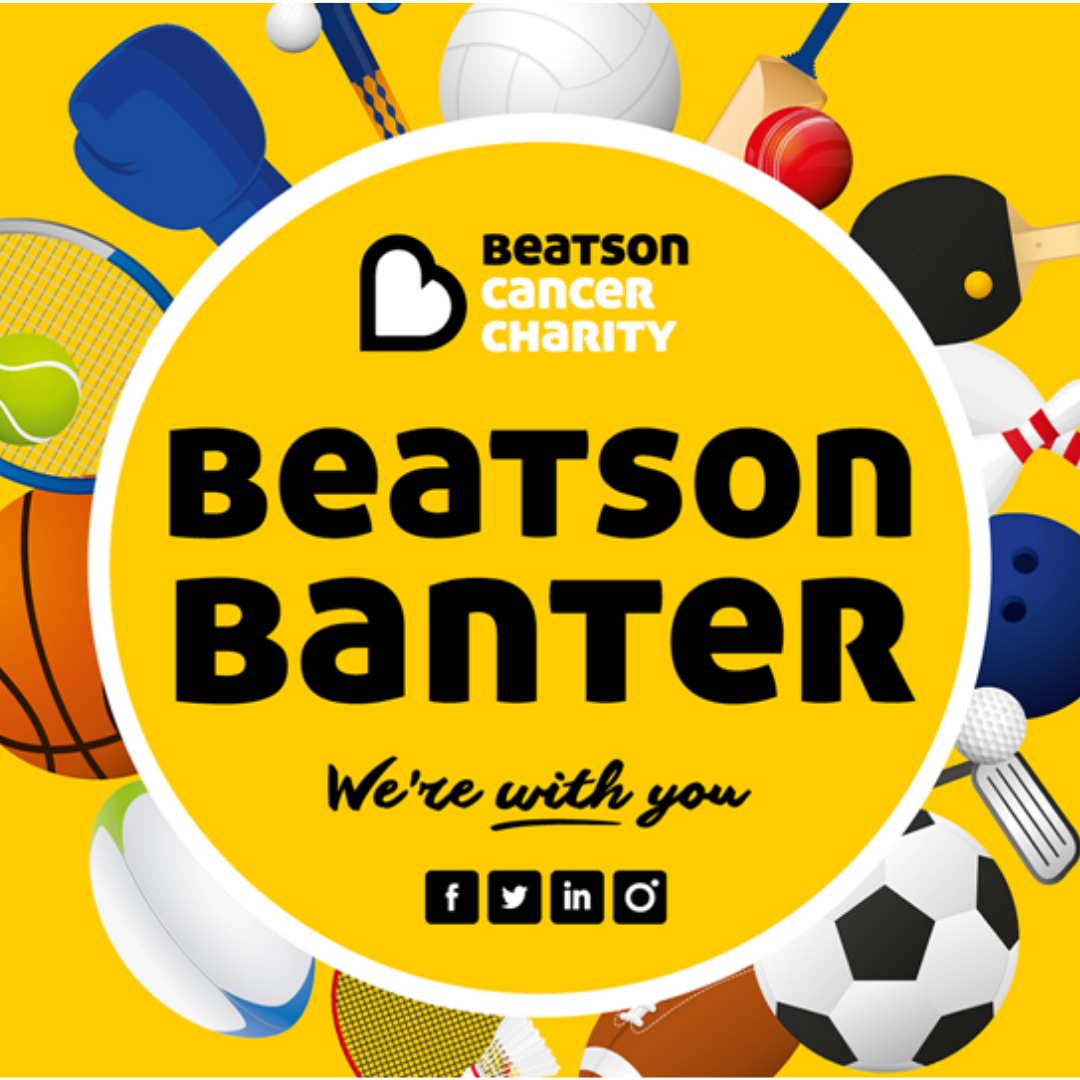 Thanks to all who've bought tickets for our #BeatsonBanter events, bid in auctions & to our fantastic guests. At last night's final Beatson Banter for the summer, you helped to raise £2,610!  You've now helped to raise over £30k throughout this uncertain time - thank you! 💛