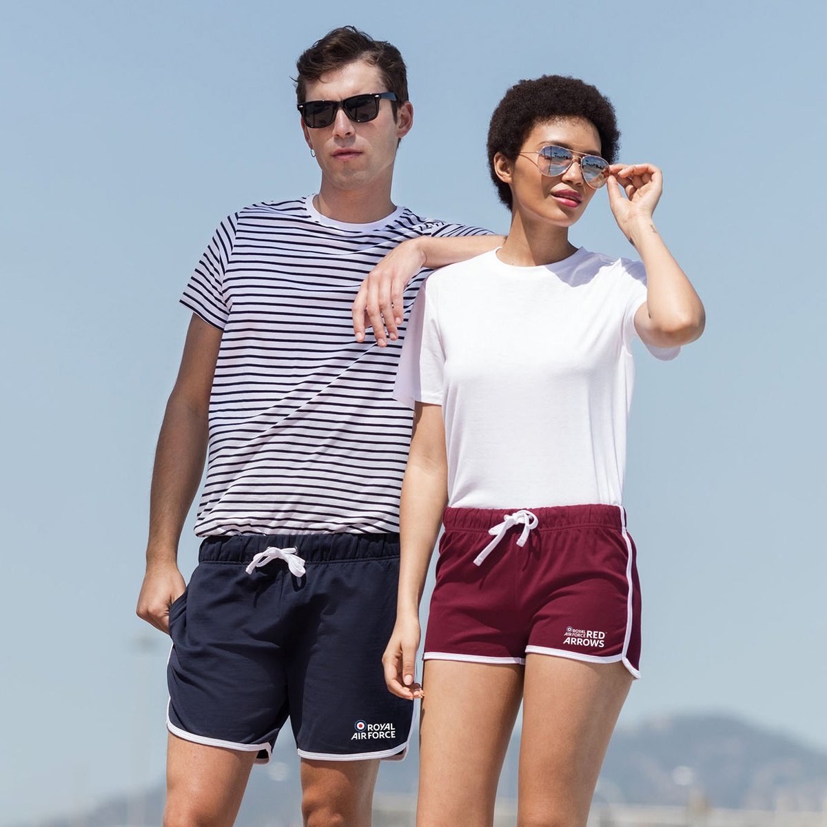Get set for the warmer days ahead with our Official RAF shorts for both men and women! We have a wide collection of colours and styles available, so you'll be sure to find your perfect pair. 😎🌞  https://t.co/RPrsevf7Ti  #raf #royalairforce #redarrows #aviation #summershorts https://t.co/Zy3tkKgsgi