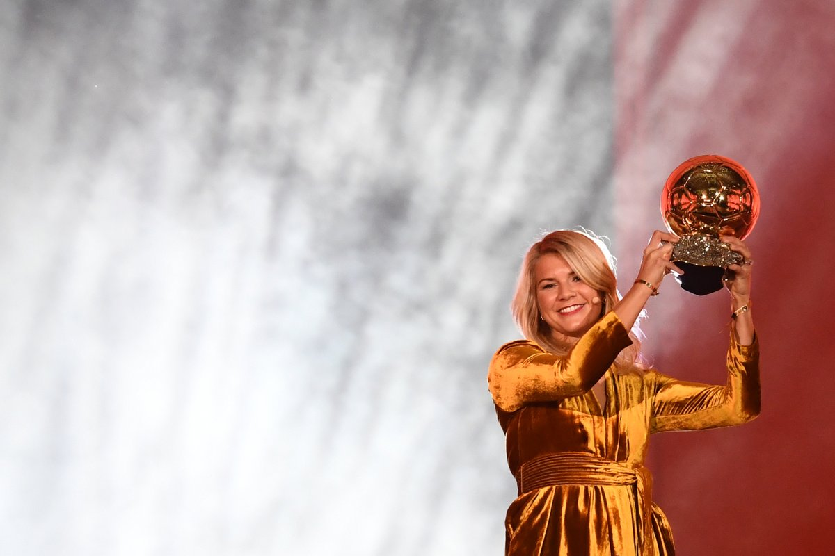 Ada Hegerberg turns 25 today. She has already:   Scored over 300 career goals  Won the Champions League 4 times  Lifted 9 domestic trophies with Lyon  Won the first-ever Ballon d'Or in women's football <br>http://pic.twitter.com/58UyZRLa13