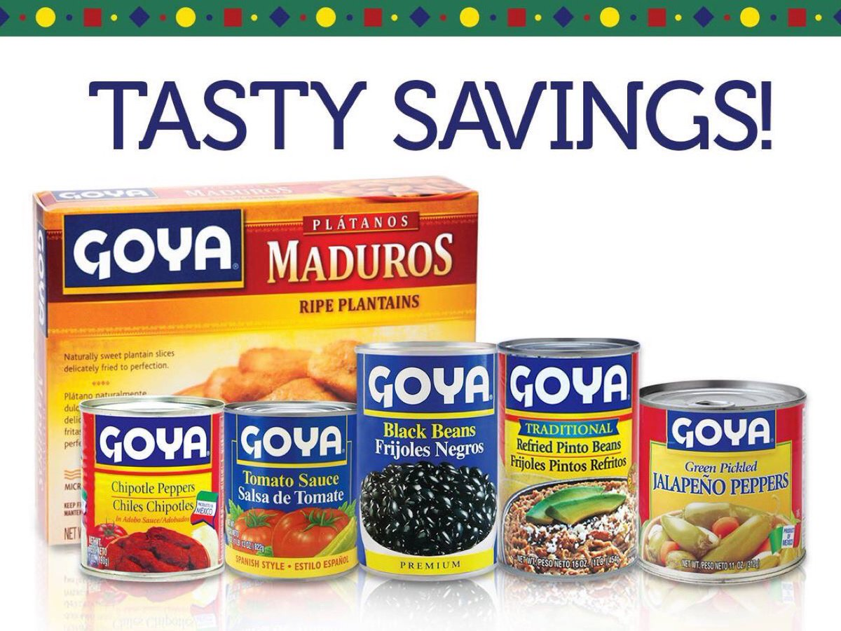 #Goya sales set all time single day sales RECORD on the news that the triggered left has boycotted!  Oh the irony!!!!!  pic.twitter.com/yi9E93vJlu