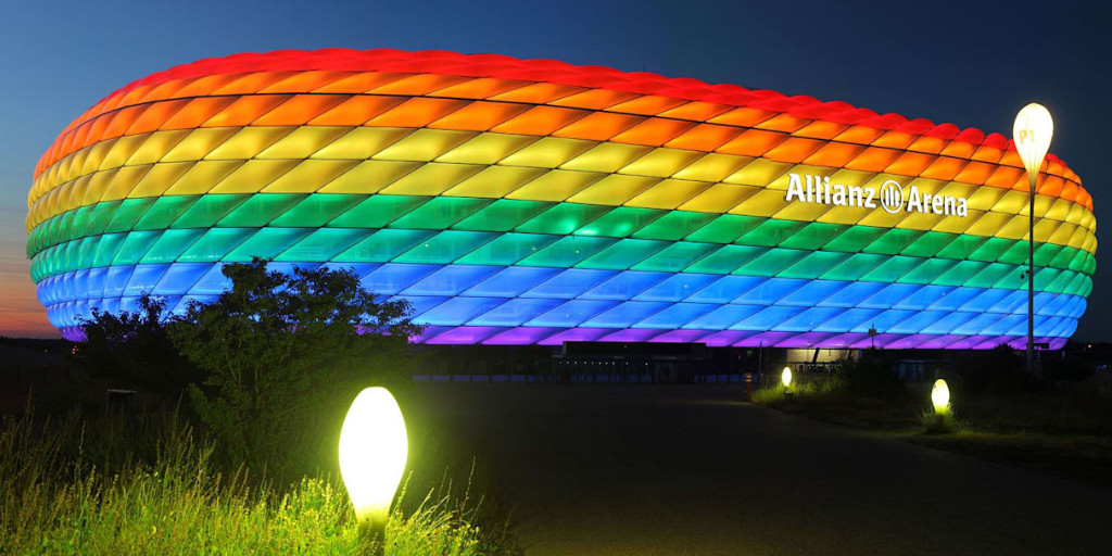 """Allianz on Twitter: """"#Pride is and always has been about more than just a  parade – it's about being your authentic self & wearing your (metaphorical)  rainbow with pride. Tomorrow night at #"""