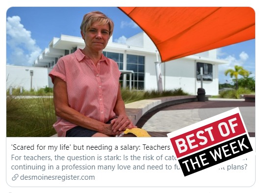 Just sent: The 🏆 Best Education Journalism of the Week! 🏆 newsletter for (07/10/20) ow.ly/iKZy30qXx1o