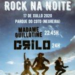 Image for the Tweet beginning: #RocknaNoite 🎸🎼O venres 17 de