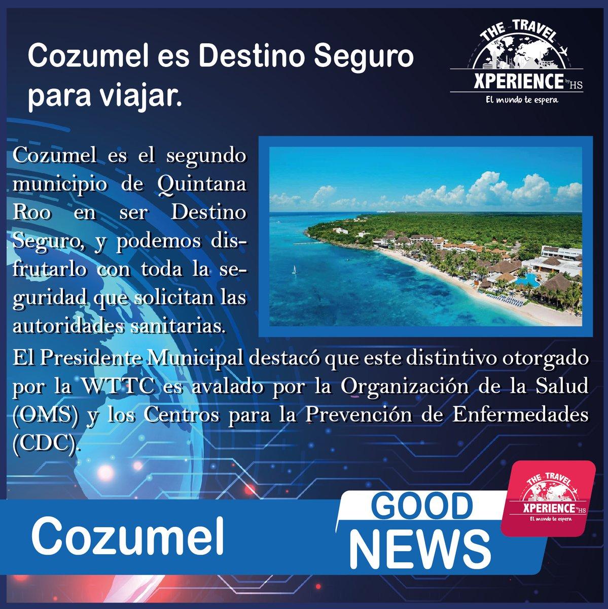 ¡Les tenemos buenas noticias viajeros! #Travel #Turismo #Mexico #FelizViernesATodos #findesemana pic.twitter.com/moPhx7Zn2G
