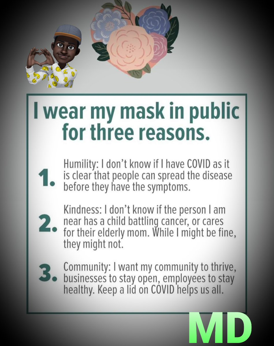 Why I Wear Mask in public. #Covid19UK #solidarity @abirhamid2017