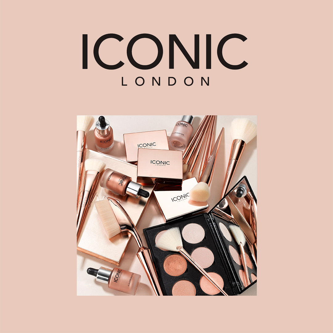 PERFECT YOUR GLAM ✨ for any occasion with the beauty essentials from Iconic London 🤩👉bit.ly/3g8C6Ob