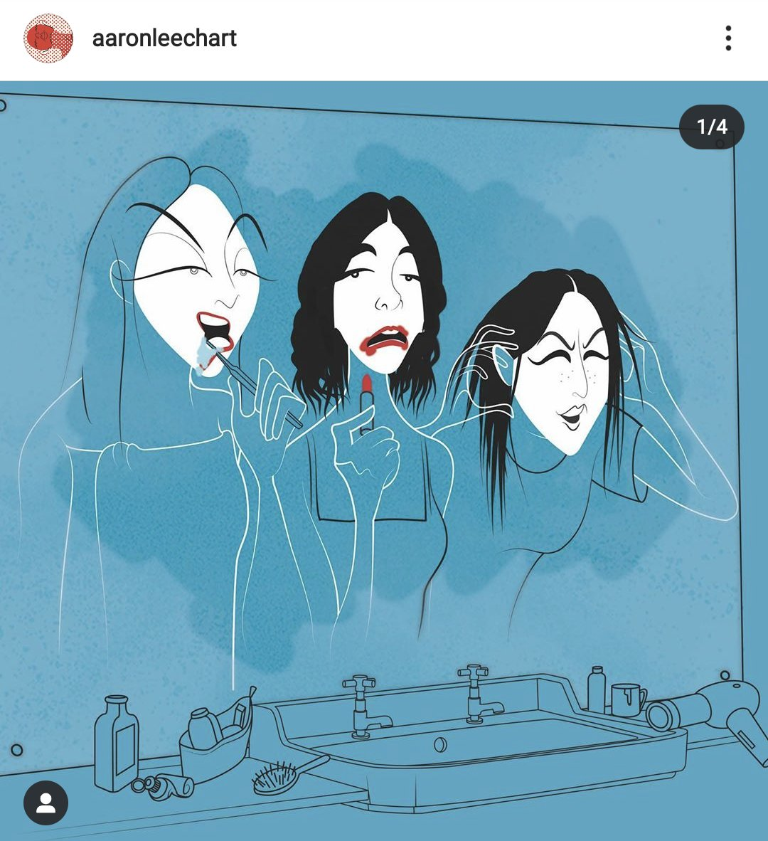 Every time I look at this it makes me smile. @HAIMtheband @aaronleechART