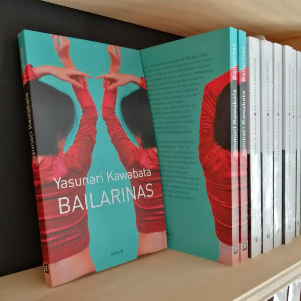 #Kawabata, #Nobel de Literatura 1968, publicó #Bailarinas en un diario japonés y fue editado en 1955, en los años de posguerra.  #RegalaLibros #LiteraturaJaponesa #Ficción Enviamos a todo Chile  #KeepReadingenCasa Whatsapp  +569 3227 1225 Catálogo https://queleochile.cl/frutillar/pic.twitter.com/eWaMZG1HCi