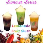 Image for the Tweet beginning: #lemonade #fruit #slush #summer #boba