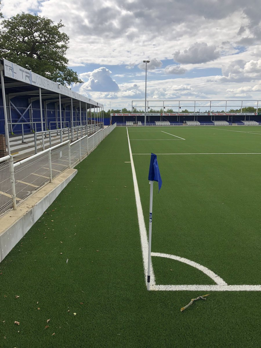 New pitch at @BTFC is looking 👌 https://t.co/4CXrHrYXUy
