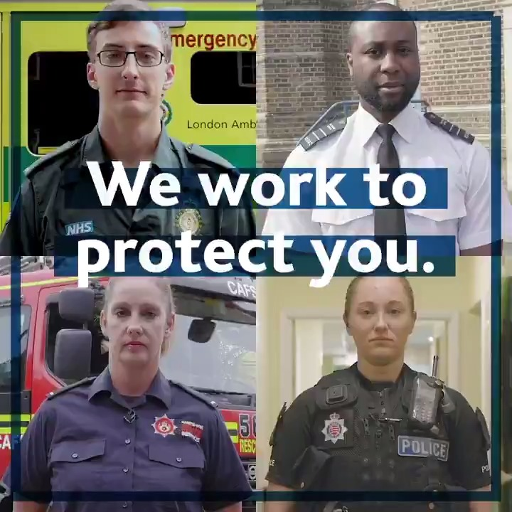 Behind the uniform there is a person, a friend, a colleague, a loved one. Assaults on emergency workers should never be part of the job and are unacceptable. Find out more about how we plan to #ProtectTheProtectors: gov.uk/government/new…