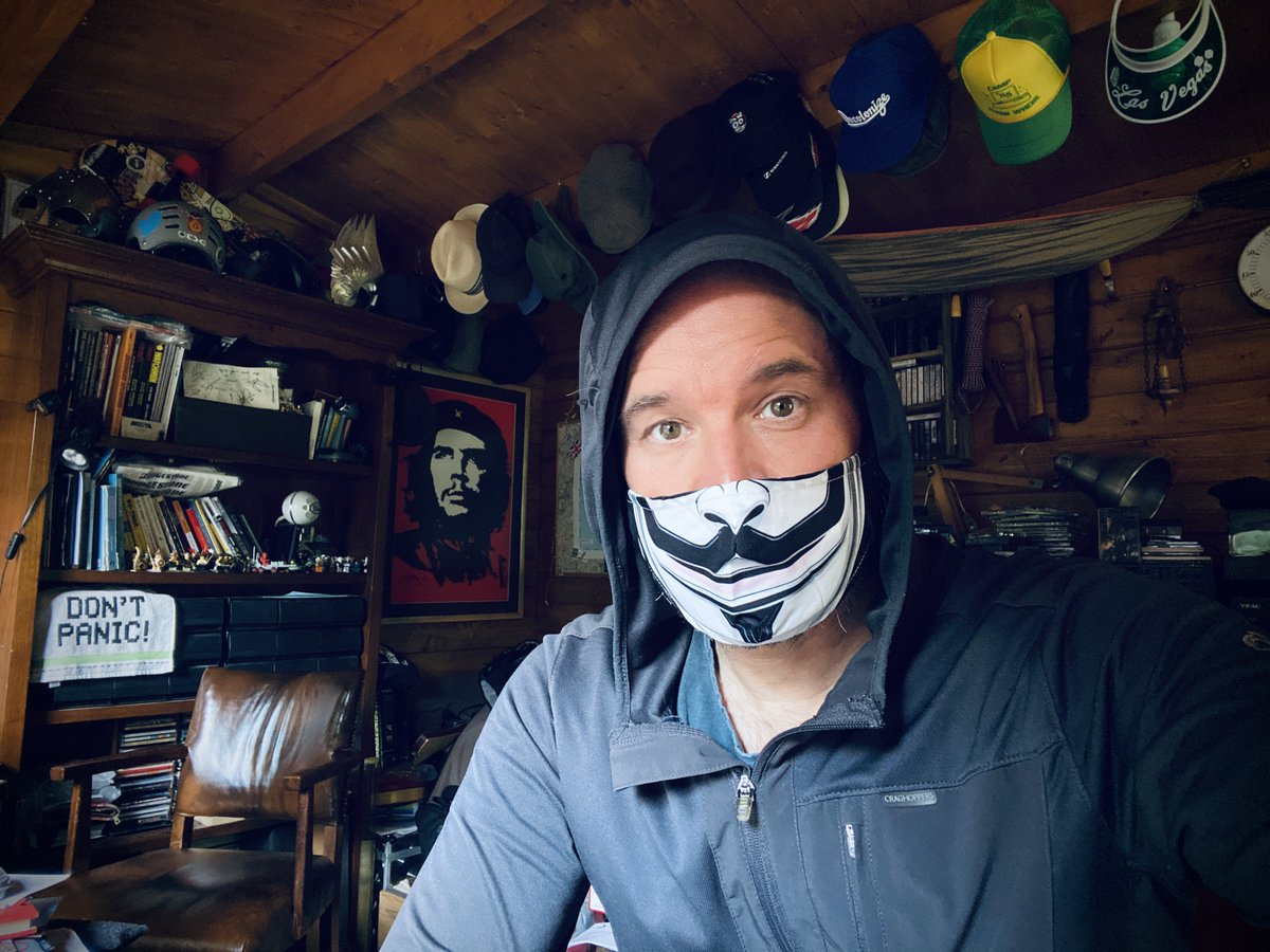 In the shed. Writing my weekly email.  Most posts are free but £3.60 a month will get you everything. And you just spent more than that on something you don't really need. https://t.co/dkewCbmxiP Can't you subscribe & support my work so I can buy things I don't really need? https://t.co/LPauM3bbkz
