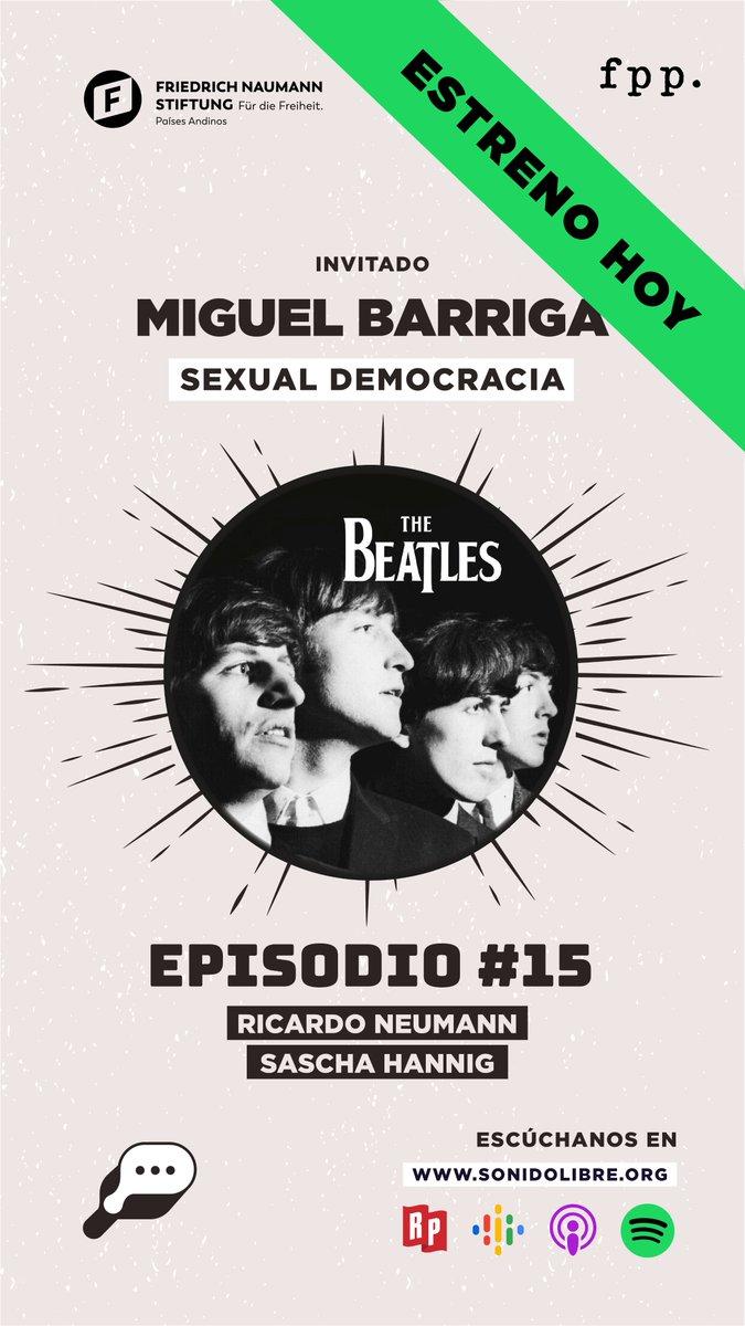 🎧#Podcast En este episodio de La Tribu🔥 junto al líder de Sexual Democracia Miguel Barriga, analizamos a #TheBeatles y su incursión con el discurso político, con la canción Revolution de 1968 . Escúchalo ahora en https://t.co/oQyl67V32F, Spotify, Google y Apple podcast. https://t.co/qHrTvvWekj