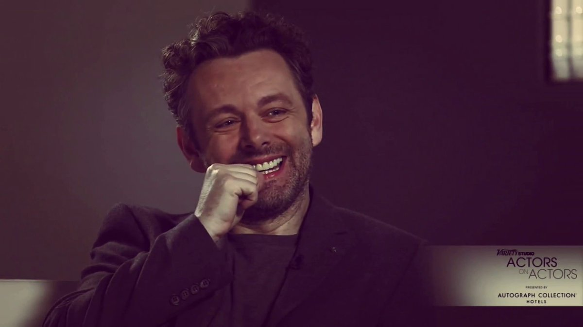 So much love for him and great emotions for me. #michaelsheen #actor #lovethismanpic.twitter.com/NEiQtbEjVf