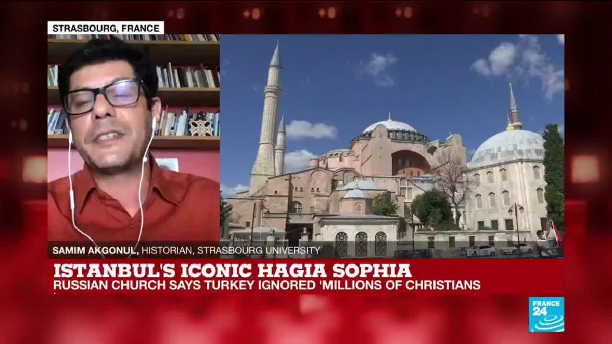 ?? Istanbul's Hagia Sophia reconversion to a mosque 'used to divide Erdogan's opposition'