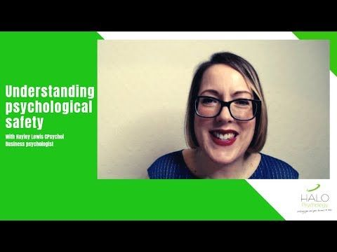 How to create #psychological safety at work [VIDEO] https://t.co/Sy5tk0zCbd #psychology #leadership #Management https://t.co/3rt8xeVEEU