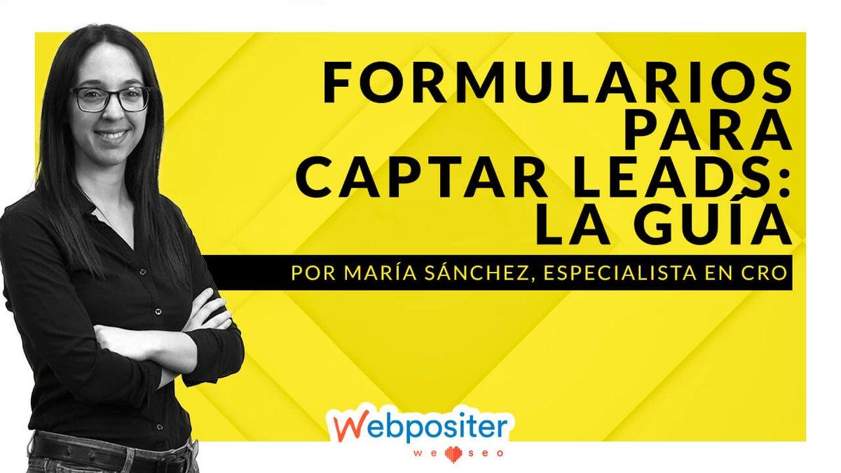 Pautas básicas para crear #Formularios #Web #Diseñados para captar #Leads (de calidad) https://t.co/DAjM3fiI2a vía @WebPositer https://t.co/kxjZIAPiXy