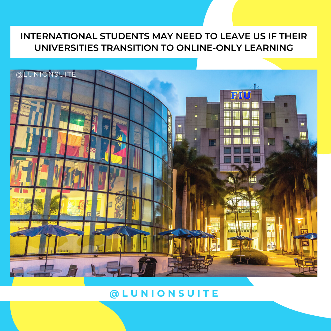 #NEWSLETTER International Students May Need To Leave US If Their Universities Transition To Online- Only Learning - https://t.co/HvcJTPxJJ8 https://t.co/cmKBVfWT5P