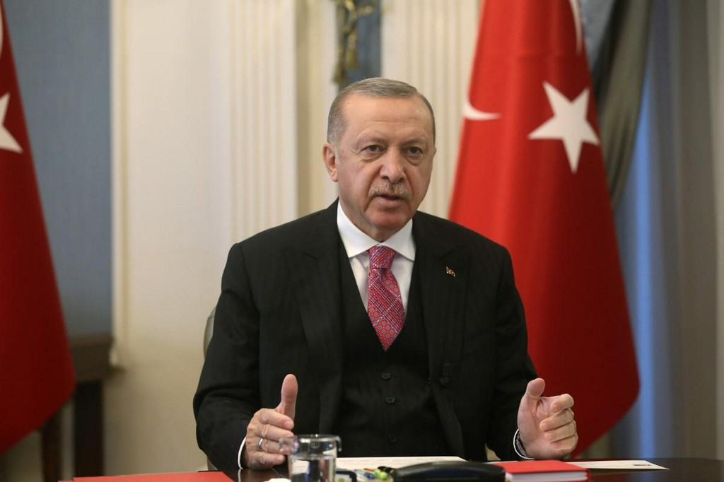 Turkey's Erdogan signs decree converting Hagia Sophia into mosque