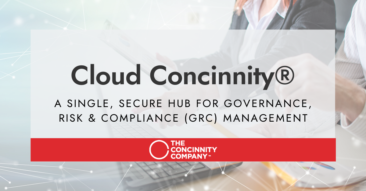 Cloud Concinnity® is GRC Software custom built for the board and the c-suite to transform mission critical #management and #governance, #risk management, and #compliance processes.   https://t.co/GmL4afGdGR https://t.co/FCYgZ0kQXY