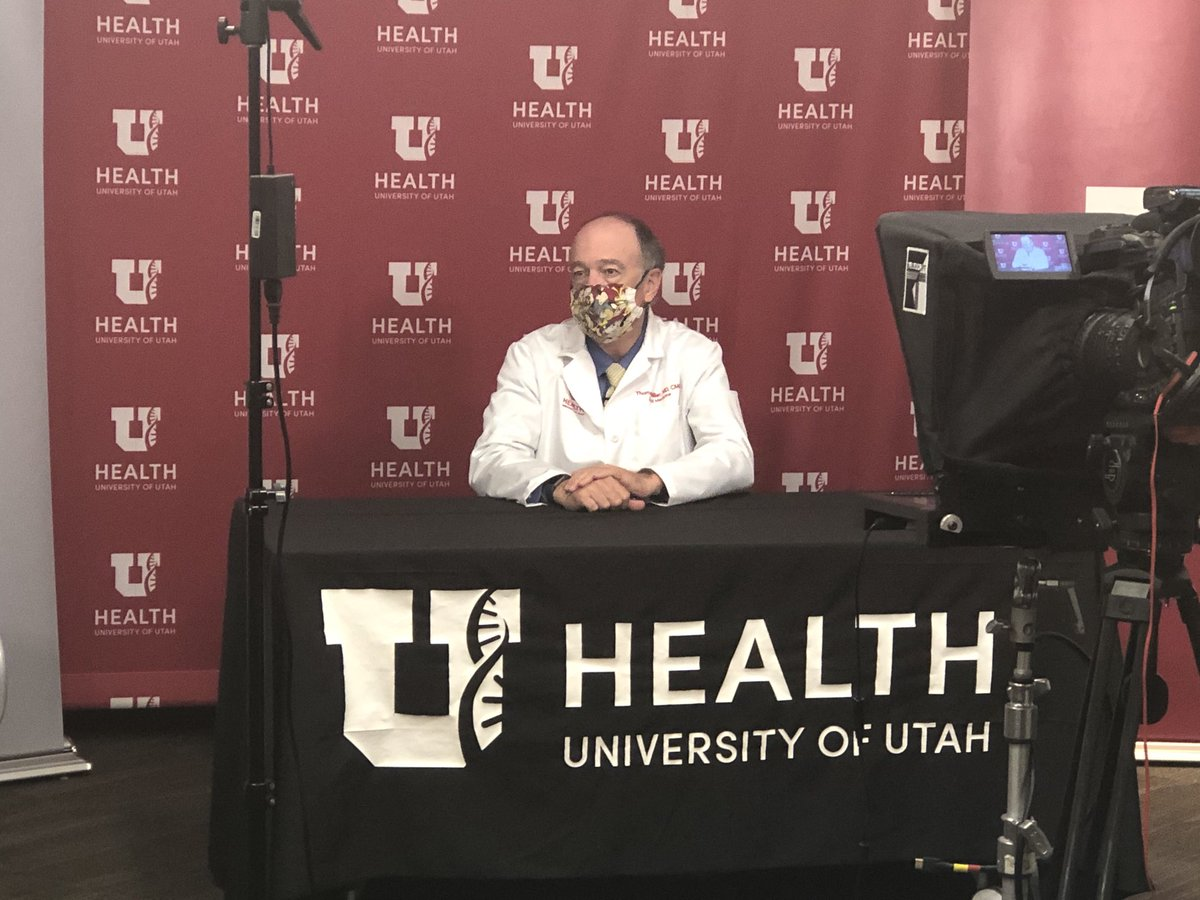 We are up and running with our live press conference to push for a statewide mask mandate @UofUHealth @Intermountain @HealthChoiceUT https://t.co/XZs3al47MO