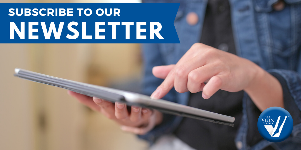 Stay updated on the latest news from USA Vein Clinics like new clinics, blog posts and more. https://t.co/QE1hjqCMjC #veindisease #veintreatment #veinhealth #newsletter https://t.co/hXbxJU94aY